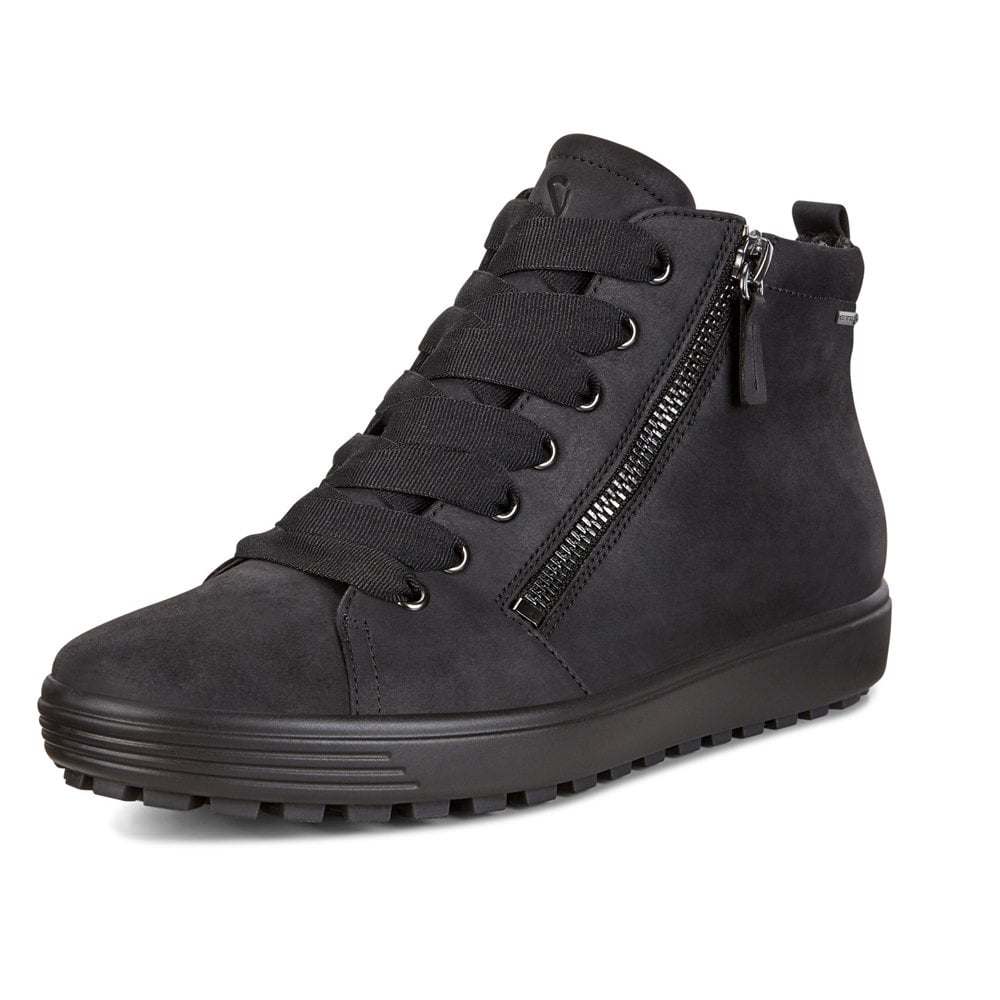 Soft 7 Tred Nubuck Leather Boot Black