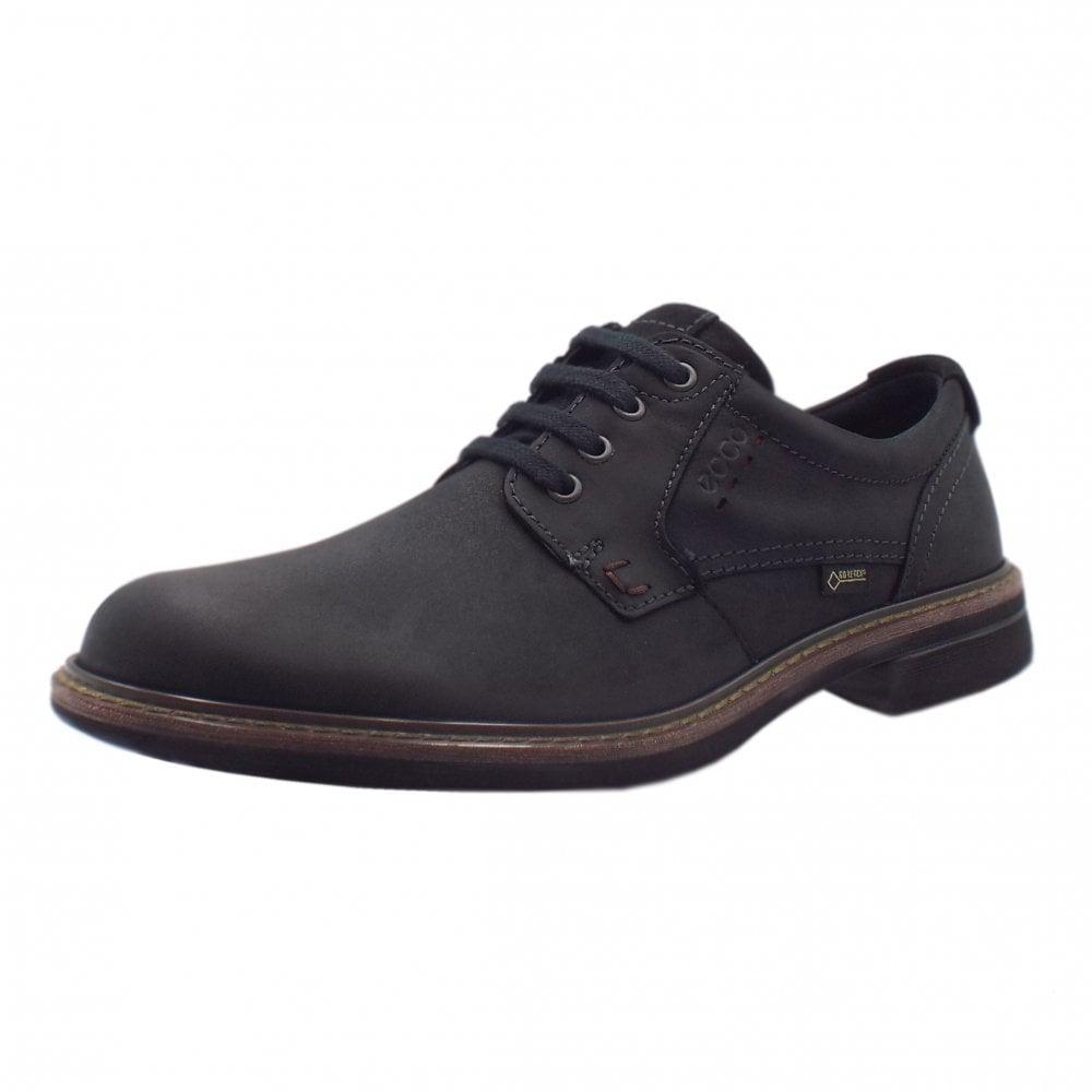 Men's Lace-up Gore-Tex Shoes in Black