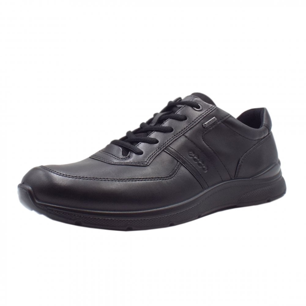 0d1a2293e796 ECCO ECCO 511614 Irving Men s Lace-up Gore-Tex Shoes in Black