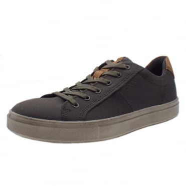 530734 Kyle Men's Lace-up Sneaker in Titanium