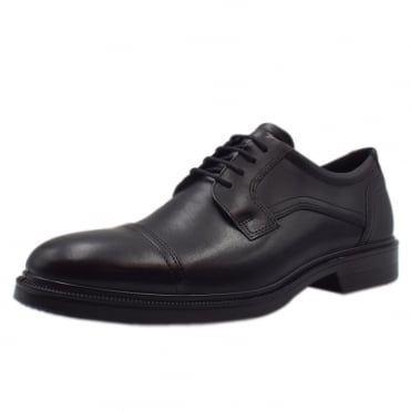 622114 Lisbon Santiago - Men's Lace-up Formal Shoes in Black