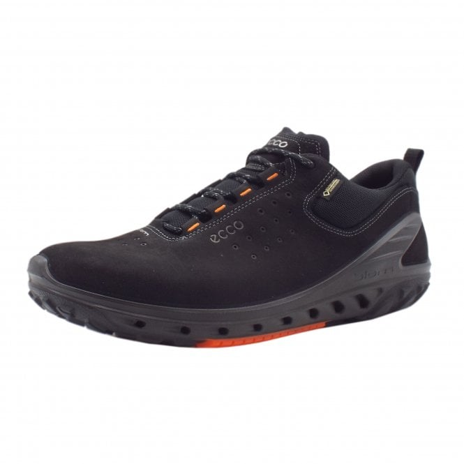 ECCO 820724 Biom Venture Men's Lace-up Gore-Tex Trainers in Black