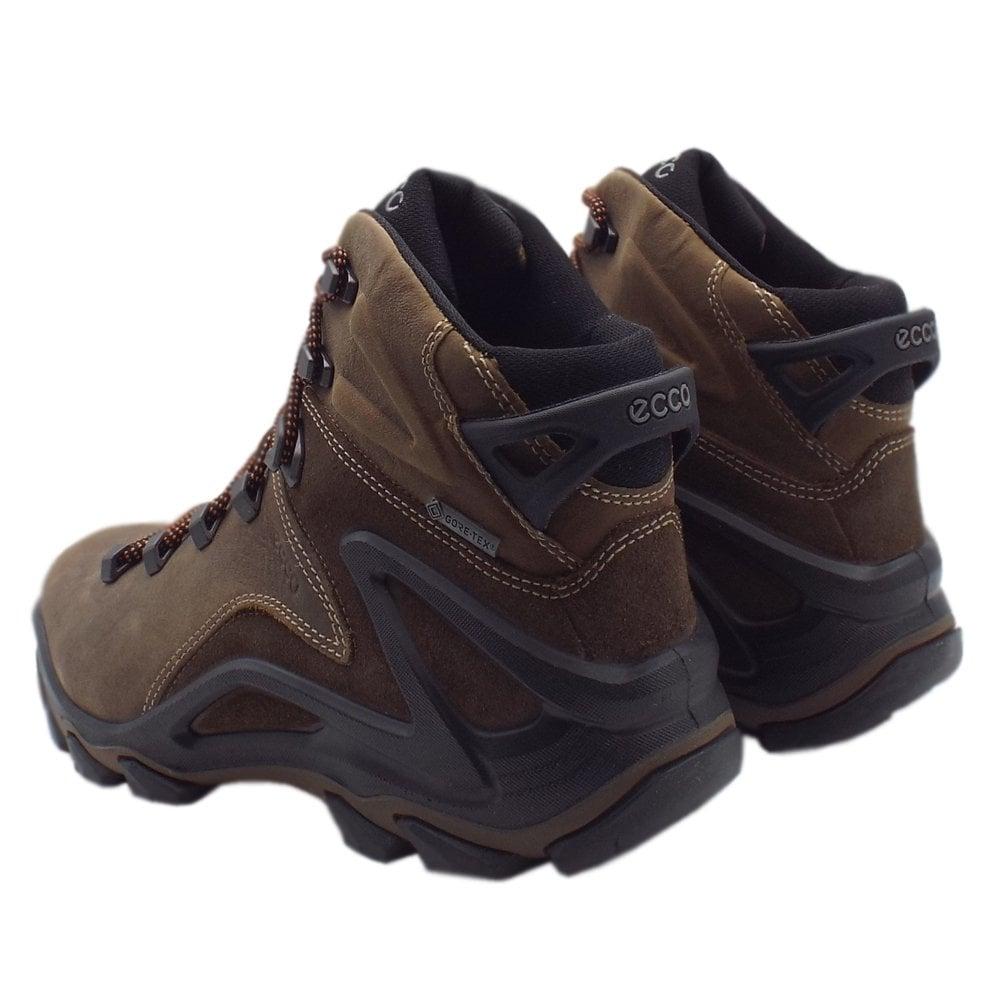 8024696511 ECCO 826504 Terra Evo Navajo Gore-Tex Boot - Men's Hiking Boots in Brown