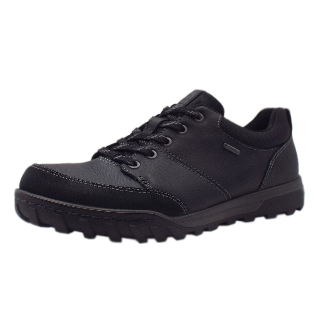 47ddf042afc4 ECCO ECCO 830704 Urban Lifestyle Men s Lace-up Gore-Tex Shoes in Black