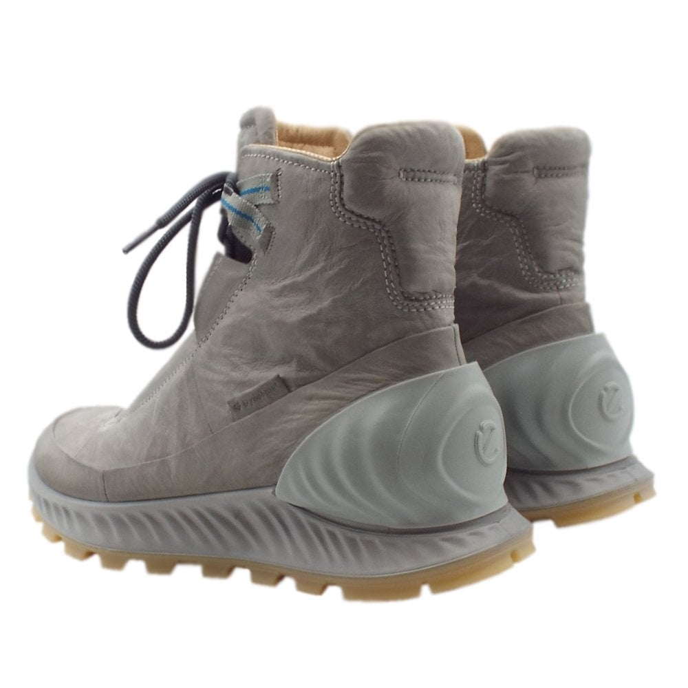 d79540ee592 ECCO 832314 Exostrike Dyneema Boot - Men's Hiking Boots in Grey