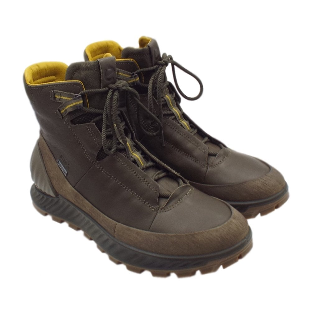 645112572 ECCO 832324 Exostrike Gore-Tex Boot - Men's Hiking Boots in Olive