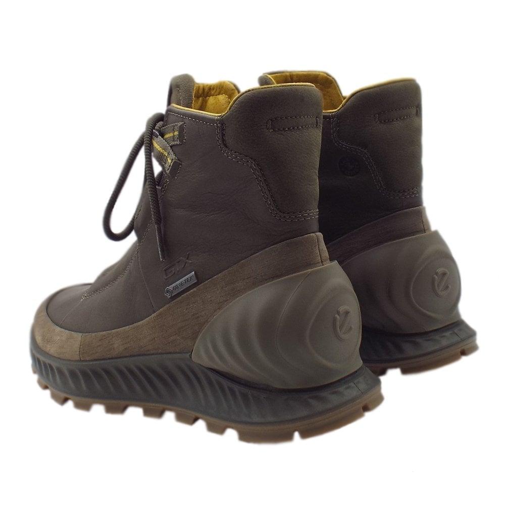 cc79230375a ECCO 832324 Exostrike Gore-Tex Boot - Men's Hiking Boots in Olive
