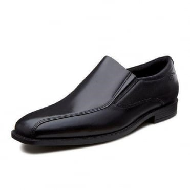 Edinburgh Santiago - 632524 - Men's Slip On Formal Shoes in Black