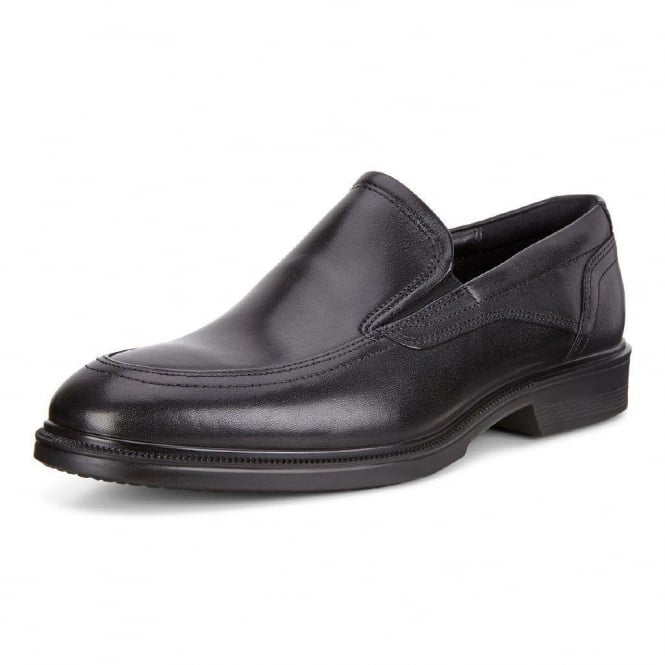 ECCO Lisbon Santiago - 622144 - Men's Slip On Formal Shoes in Black