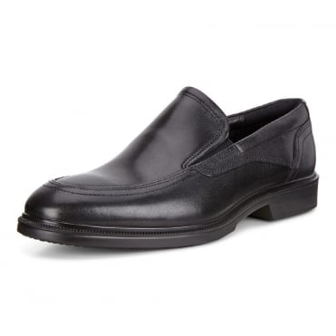 Lisbon Santiago - 622144 - Men's Slip On Formal Shoes in Black