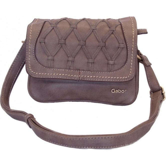Evita Womens Cross Body Bag In Taupe 113c3c8c04894