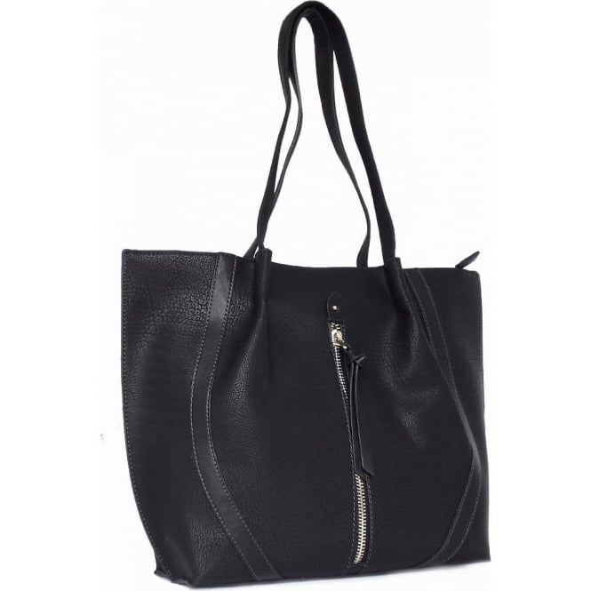 Gabor Handbags | Evita Structured Large Tote Handbag in Classic Black