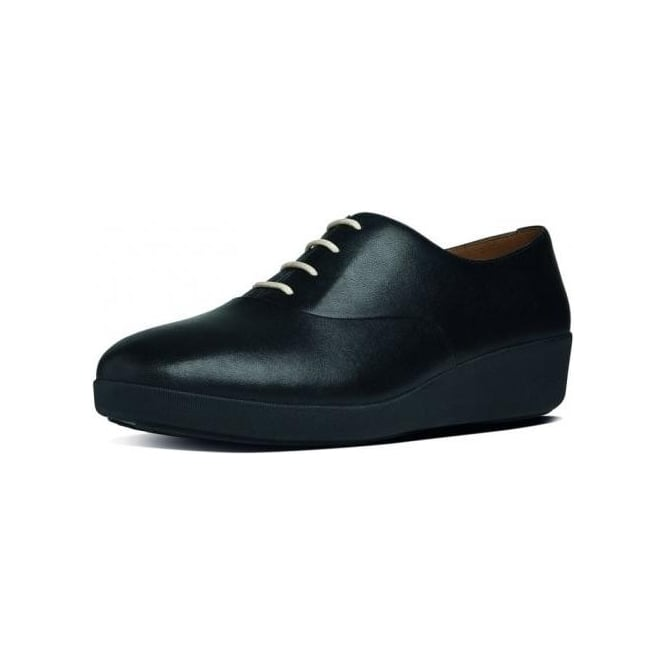 dafa7ae24 FF2™ F-Pop™ Oxford Ladies Shoes in Black Leather