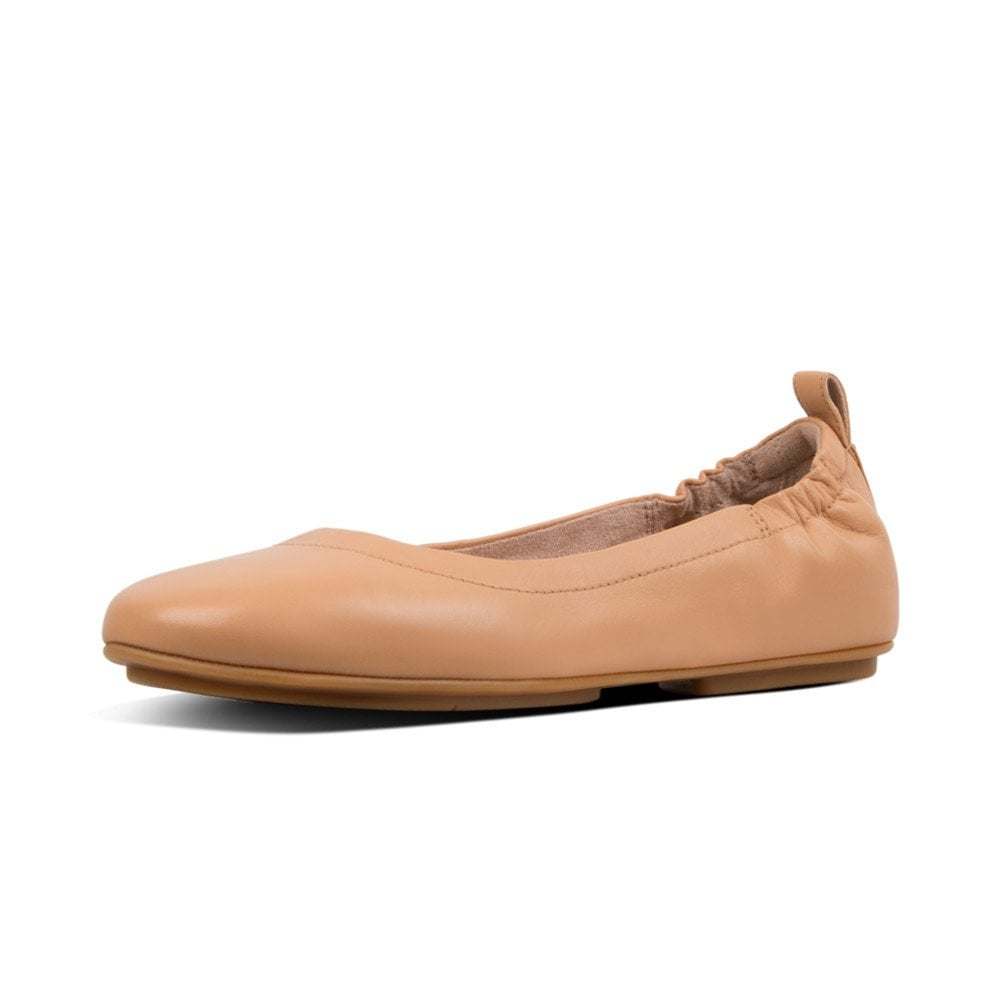 4e18bb18a3d2 FitFlop FitFlop Allegro™ Leather Ballerinas in Blush