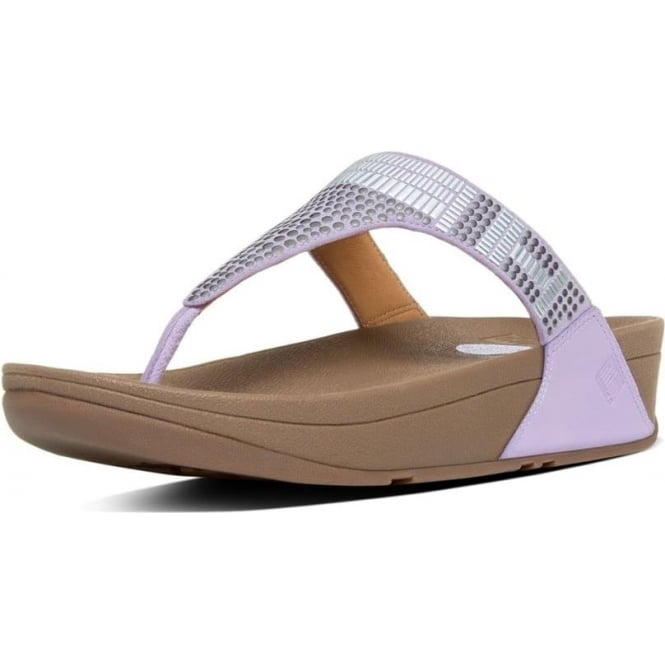 FitFlop Aztek Chada™ Toe Post Sandals in Dusty Lilac