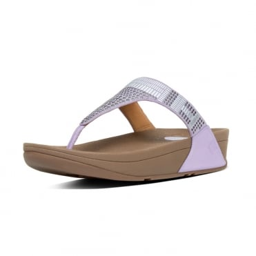 Aztek Chada™ Toe Post Sandals in Dusty Lilac