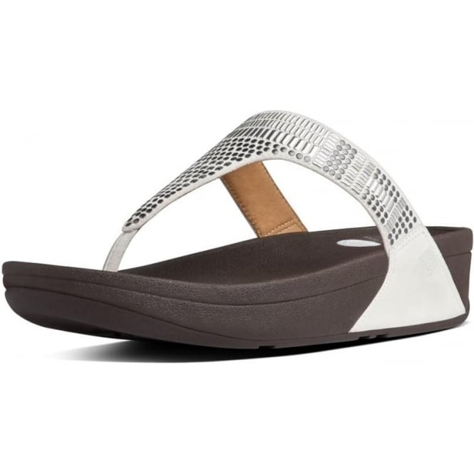 e70dba8bb Aztek Chada™ Toe Post Sandals in Urban White
