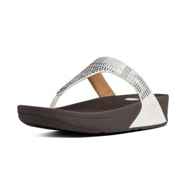 Aztek Chada™ Toe Post Sandals in Urban White