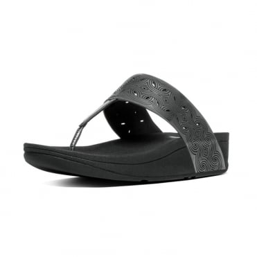 FitFlop Bahia™ Toe Post Sandal in Pewter