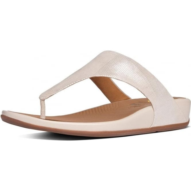 FitFlop Banda™ Opul Toe-Thong Women's Sandals in Stone Suede