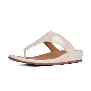 Banda™ Opul Toe-Thong Women's Sandals in Stone Suede