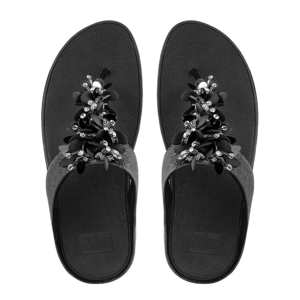66e94cd22eb Boogaloo™ Toe-Post Sandals in Black