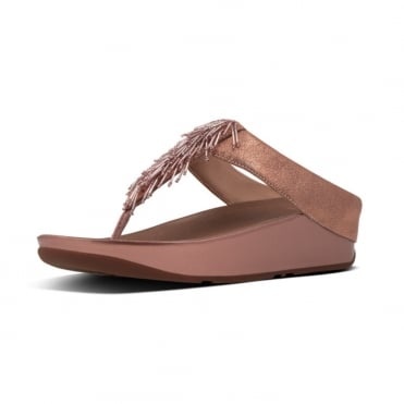 Cha Cha™ Toe Post Sandal in Rose