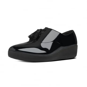 FitFlop Classic Tassel Superoxford™ Shoes in Black Patent