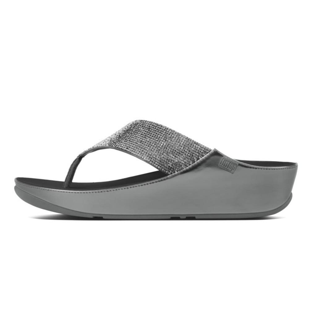 1b1285fd7d6324 Crystall™ Toe Post Sandal in Pewter