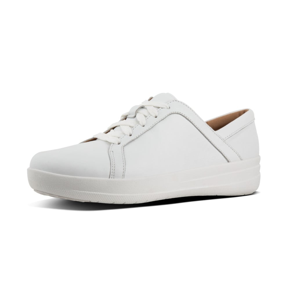 31954575bfb34 F-Sporty™ II Lace Up Sneakers - Leather in Urban White