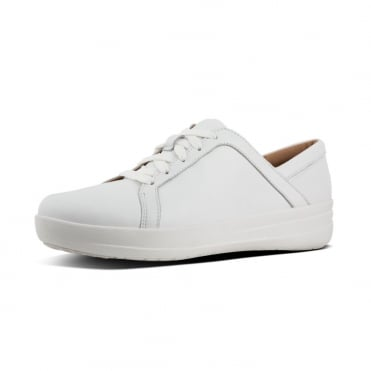 F-Sporty™ II Lace Up Sneakers - Leather in Urban White