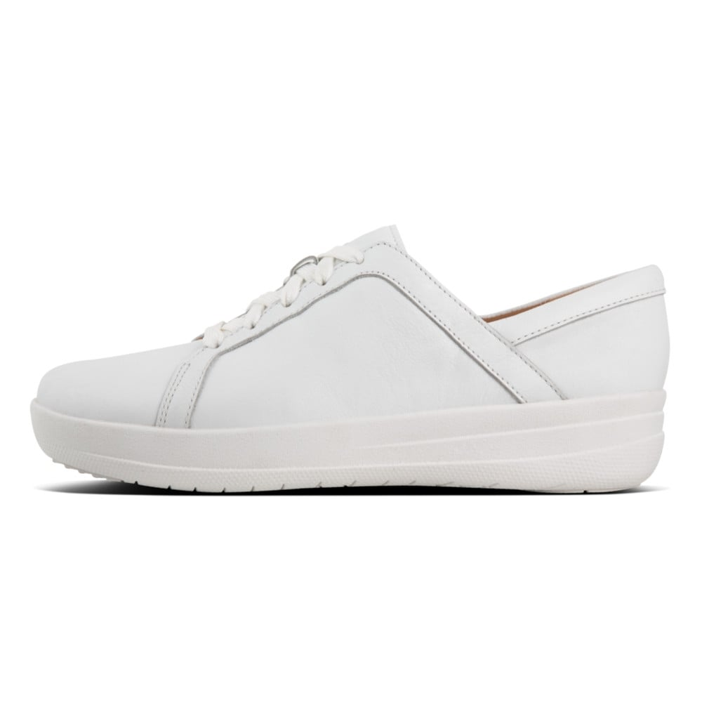 e57df49a63eac2 F-Sporty™ II Lace Up Sneakers - Leather in Urban White