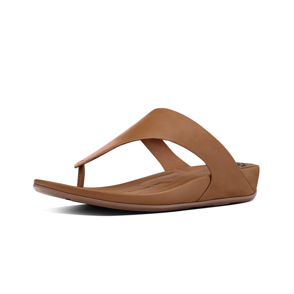 6d59f65d78de02 Fitflop Womens Banda Micro Crystal Toe Post Thong Sandal
