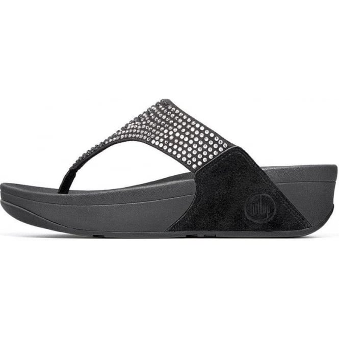 d55be48b5225 Fitflop Flare Black Strap