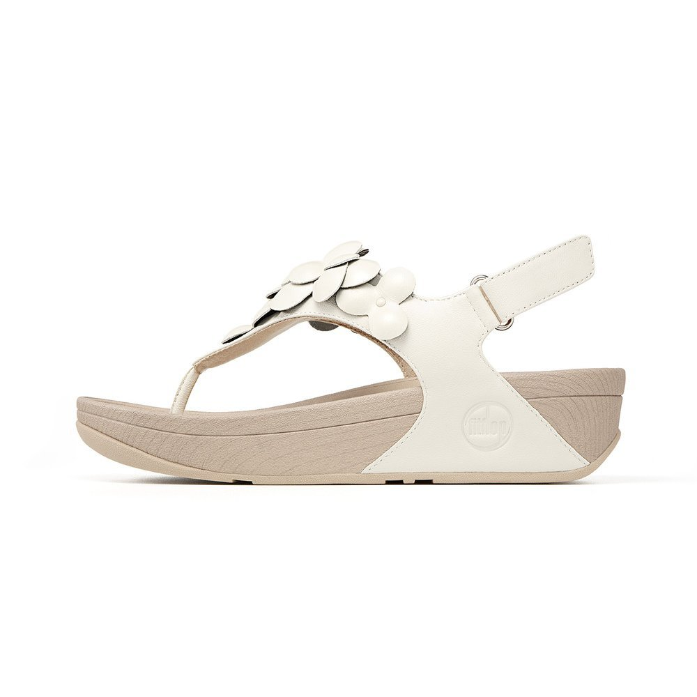 Fitflop Fleur In Urban White From Mozimo