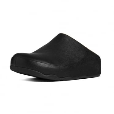 Gogh™ Moc Women's Slip On Clogs in Black Leather