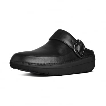 FitFlop Gogh™ Pro Superlight Women's Sling Bacl Clogs in Black Leather