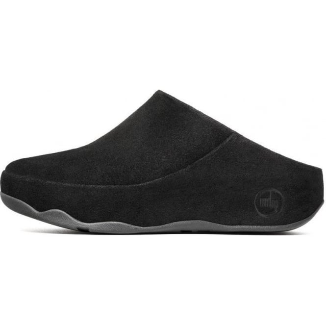 Fitflop - Gogh Womans Black Suede Clog