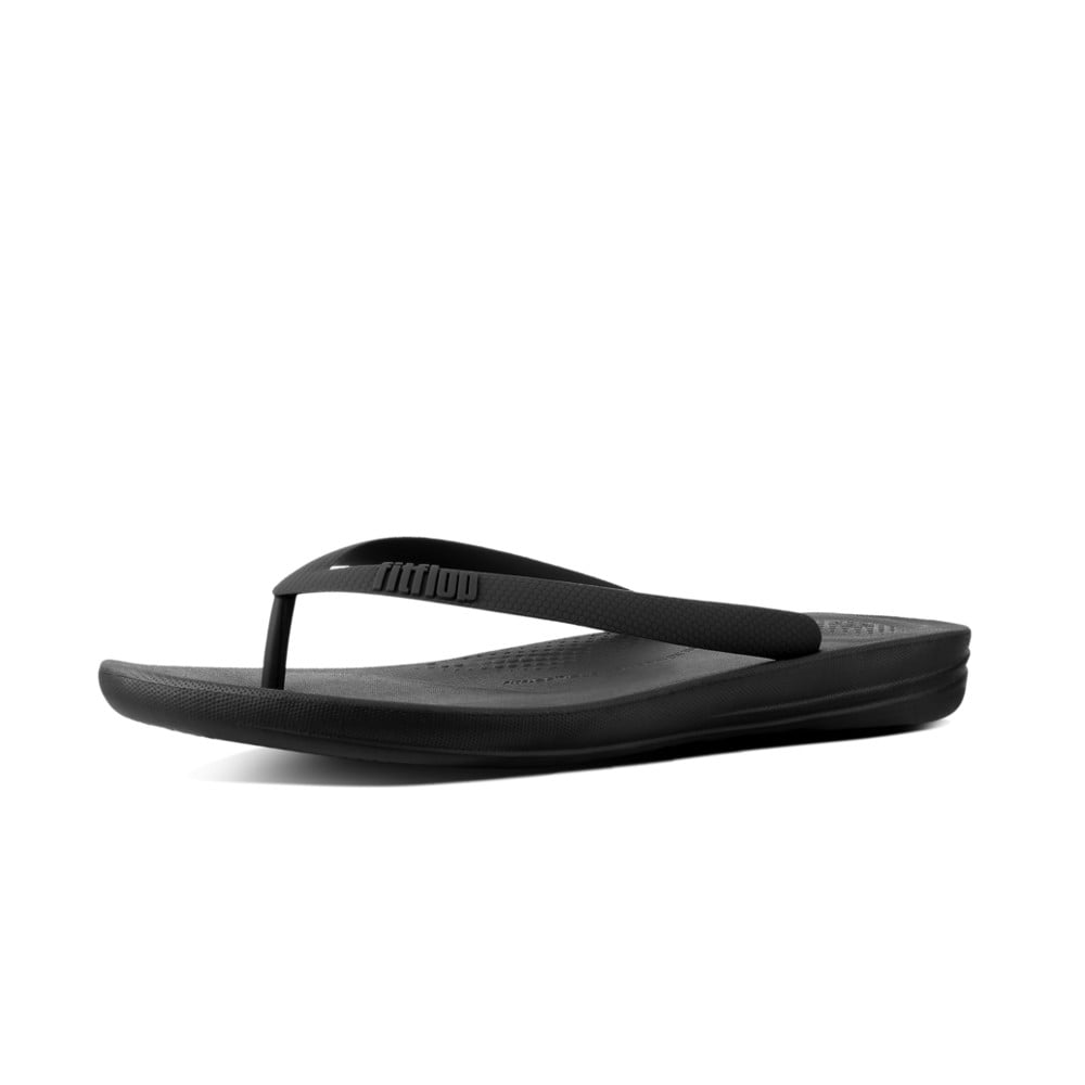 c07e9fc21f33 Iqushion™ Ergonomic Flip Flops in Black