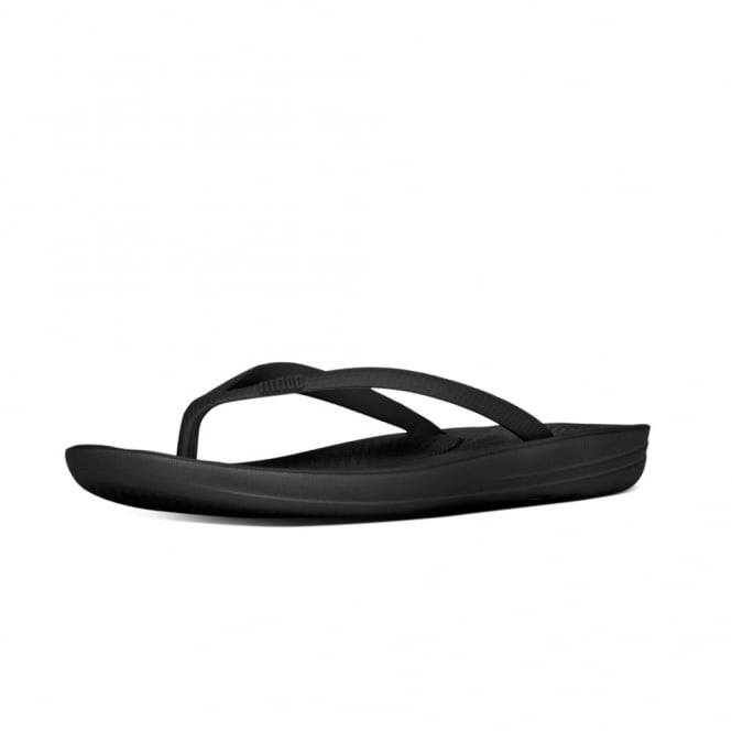 FitFlop Iqushion™ Super-Ergonomic Flip Flops in Black