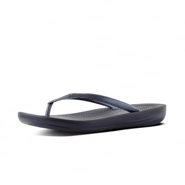 Iqushion™ Super-Ergonomic Flip Flops in Midnight