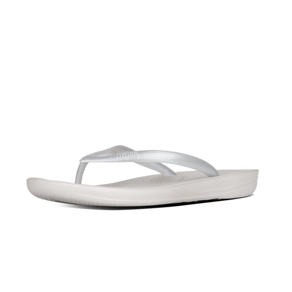 78bf2200bc3a Iqushion™ Super-Ergonomic Flip Flops in Silver