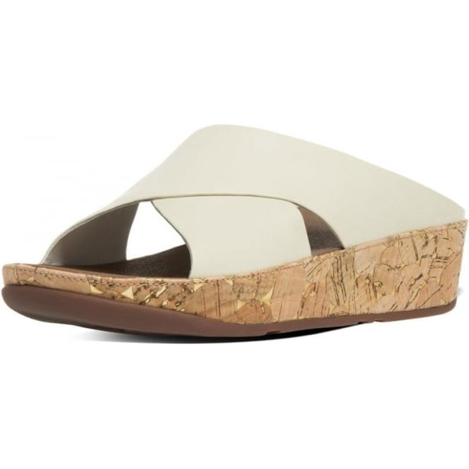 db87e7a36c10 Kys™ Women  039 s Leather Slide Sandals in Urban White