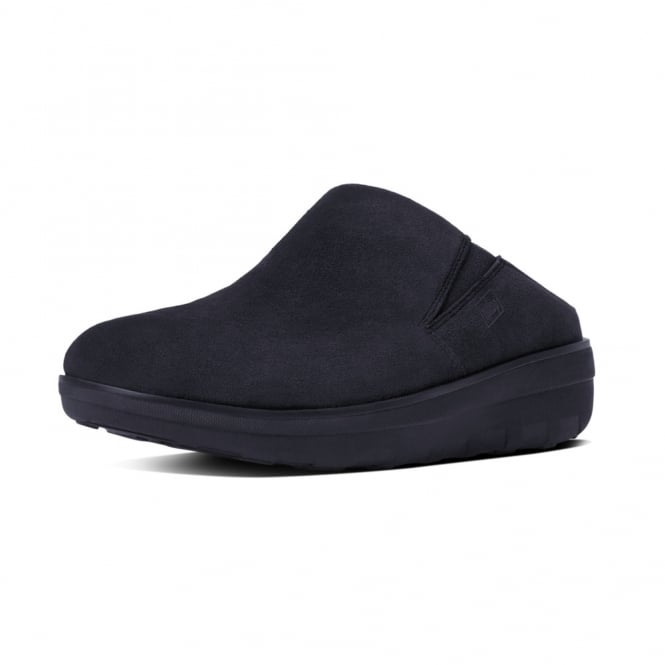 FitFlop Loaff™ Suede Clogs in Supernavy