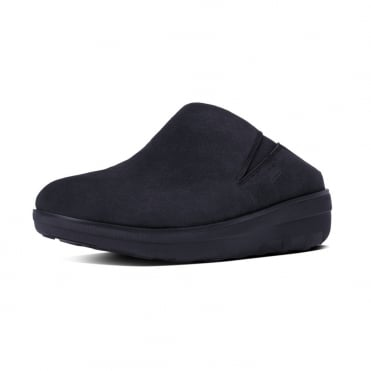 Loaff™ Suede Clogs in Supernavy