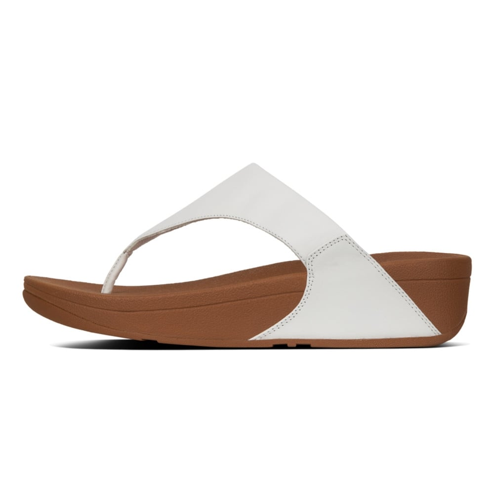 86c0805e7 Lulu™ Leather Toe Post in Urban White
