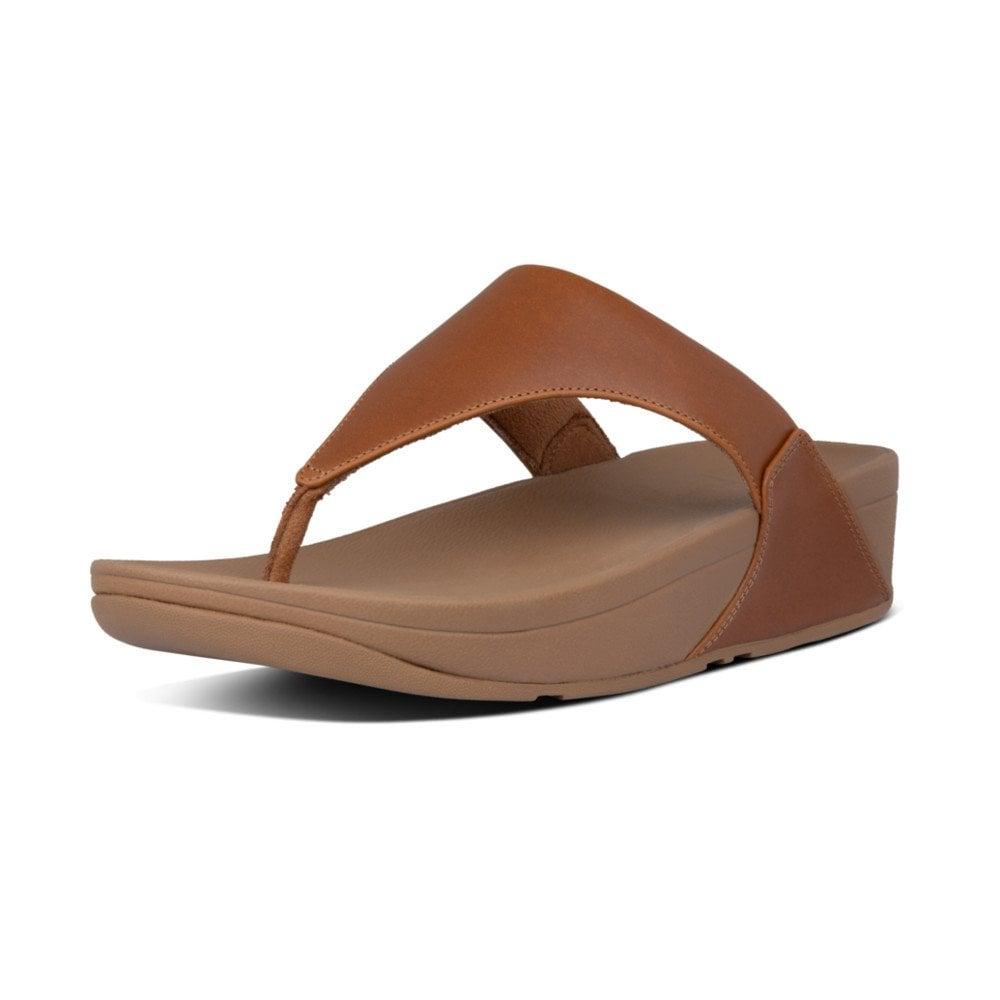 fitflop lulu leather toe post