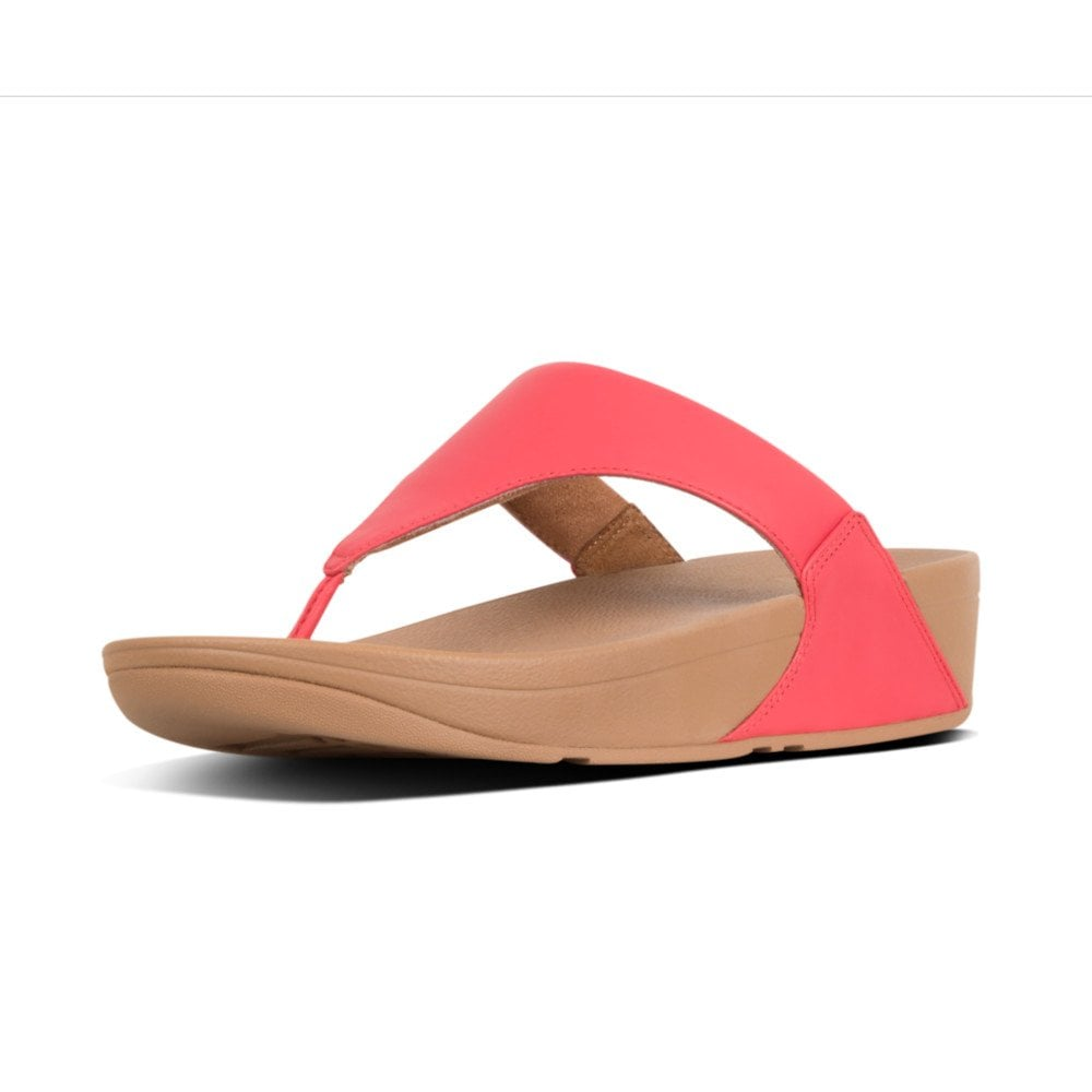 5b1326f69631b8 Lulu™ Leather Toe Post Sandals in Red