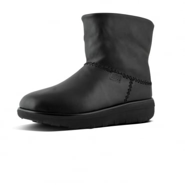 Mukluk Shorty II™ Leather Boots in Black