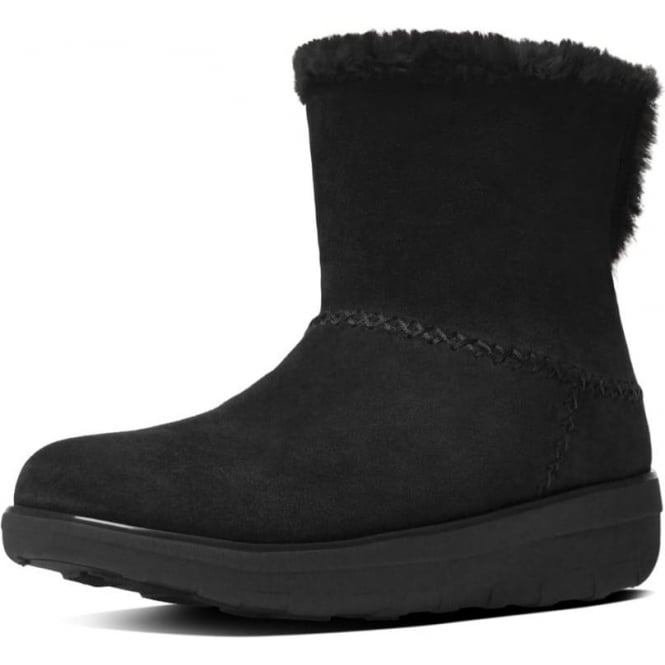 928fa71bcb4f6 Mukluk Shorty II™ Pull On Shearling Suede Boots in Black